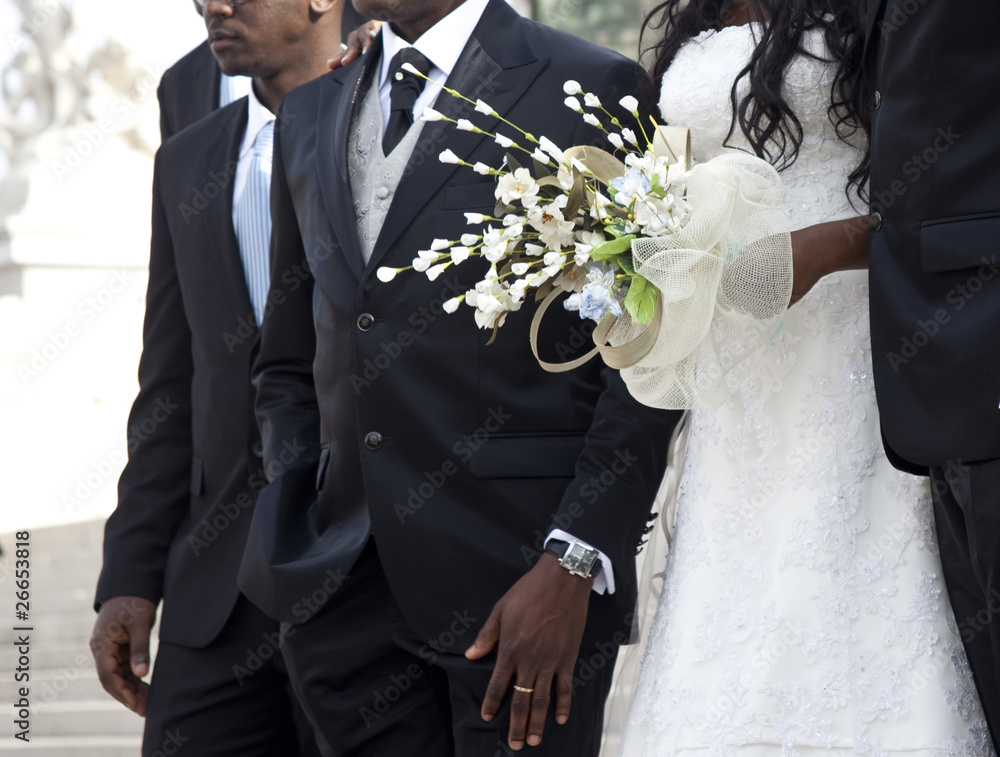 couple being married